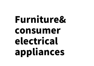Furniture&consumer electrical appliances