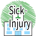 Sick/injury (audio)